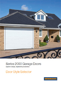 Hormann Series 2000 Garage Door style selector